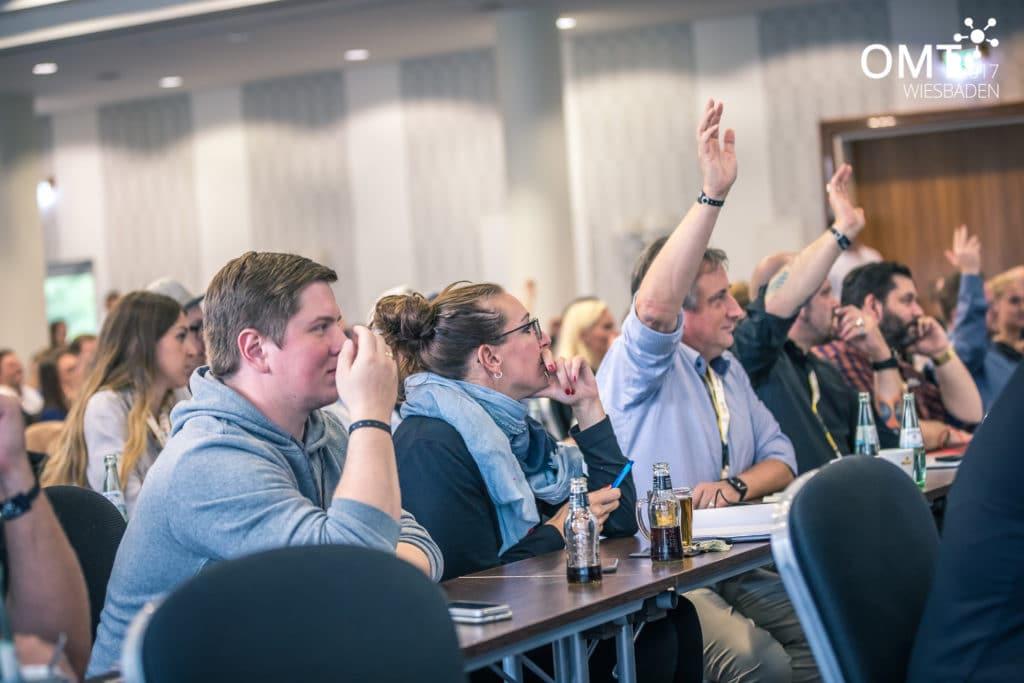 Fragerunde beim OMT 2017