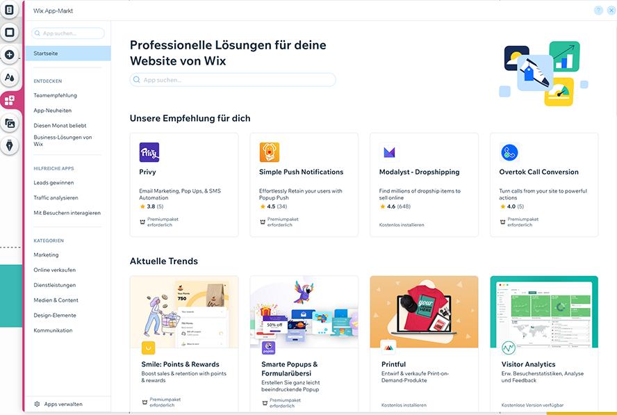 Wix_appmarkt