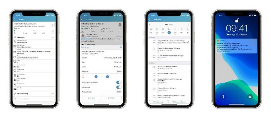 Aufgabenmanagement to go mit der factro Mobile App