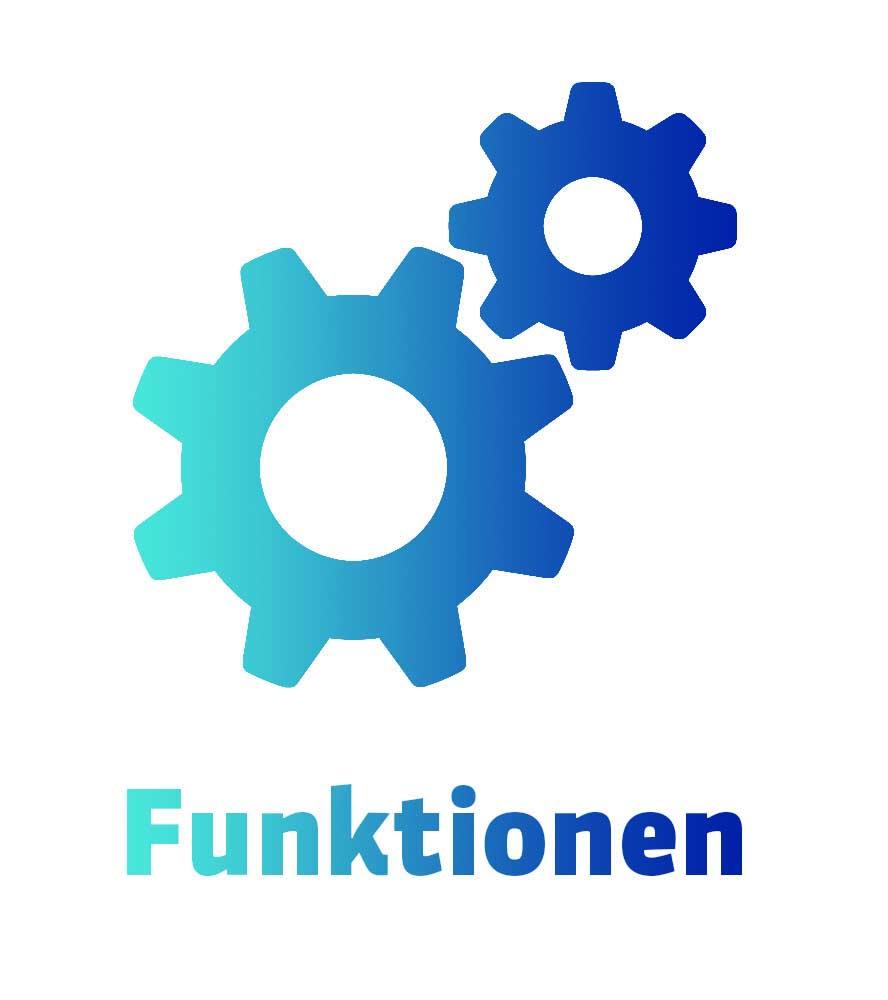 Funktionen Homepage-Baukasten