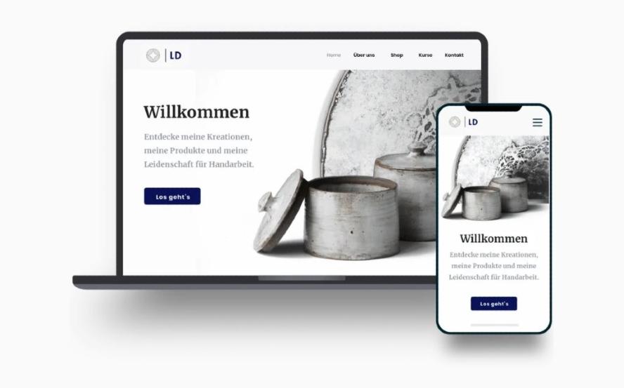 Jimdo Templates Homepage