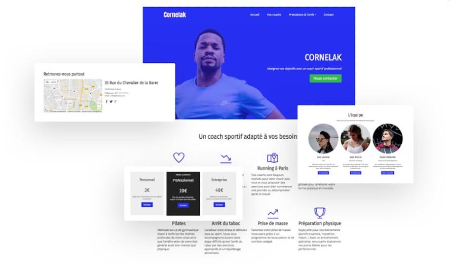 Orson.io Templates Homepage