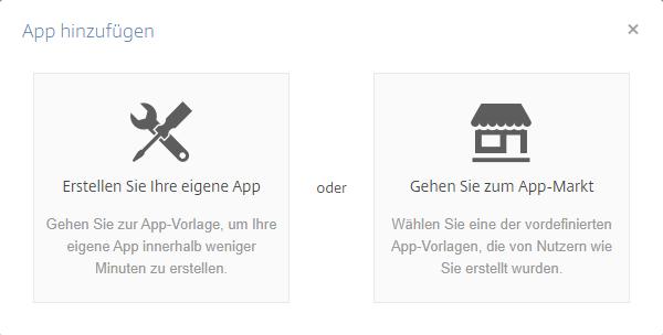 Podio Apps erstellen