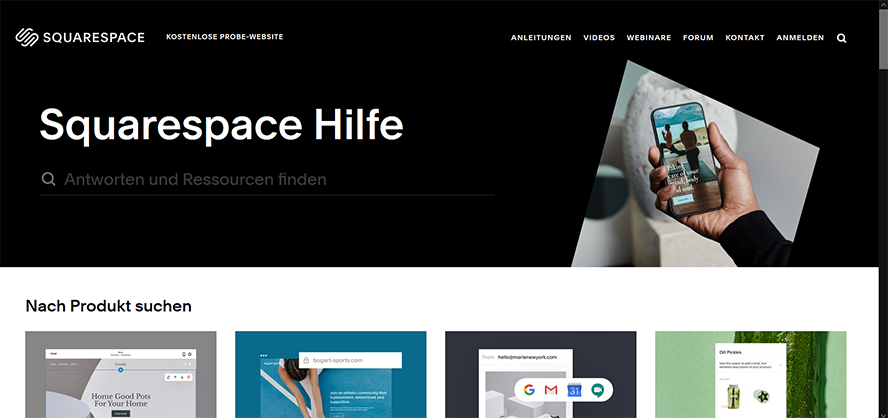 Squarespace_Hilfe-Bereich
