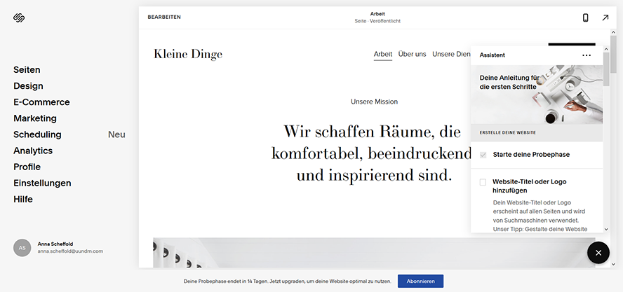 Squarespace_Webseite_Assistent