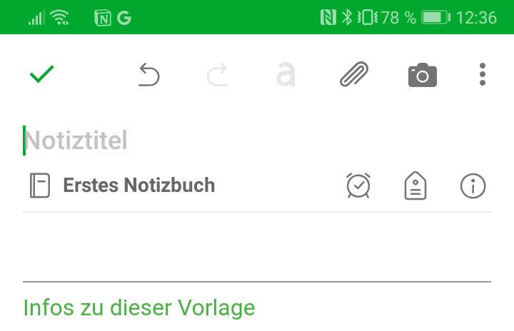 Mobile App Evernote