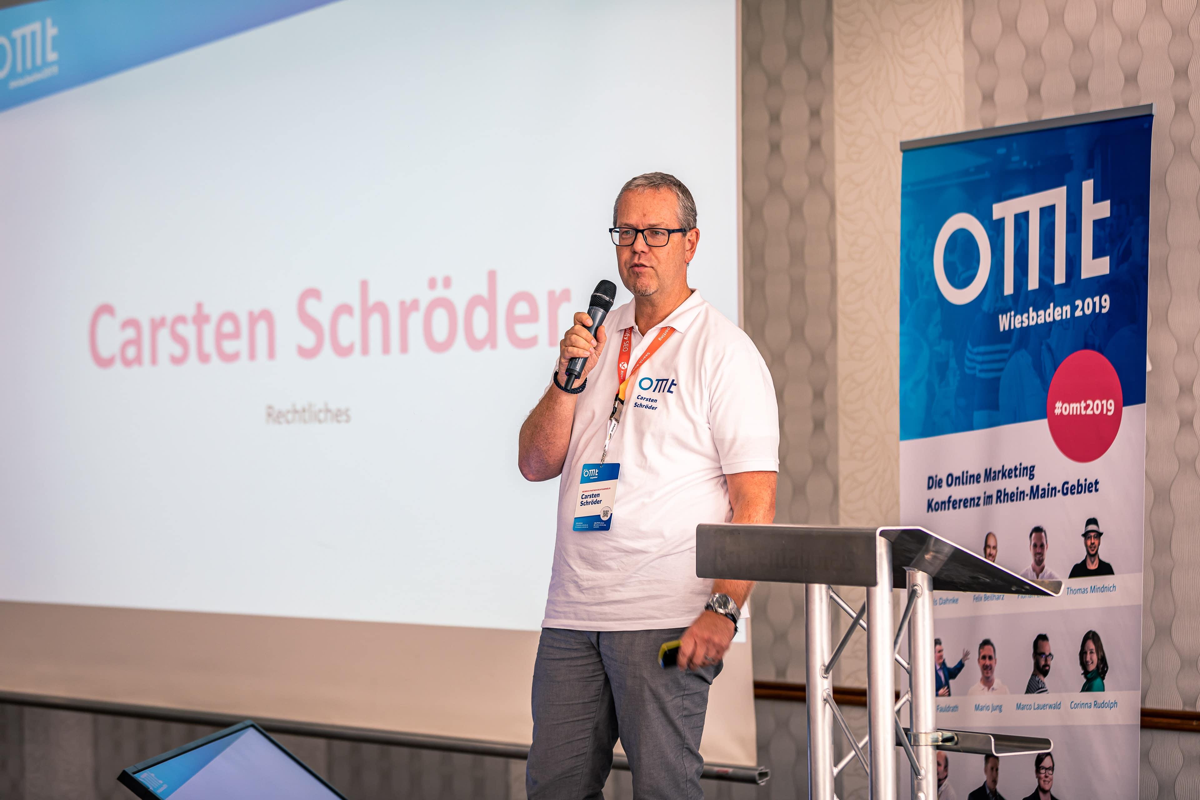 DSGVO: Frage-Antwort-Session mit Carsten Schröder