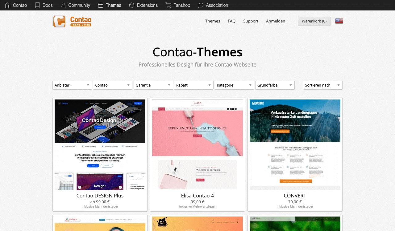 Contao Themes