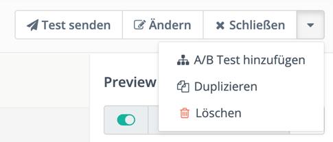A/B Test hinzufügen zu E-Mails in Mautic