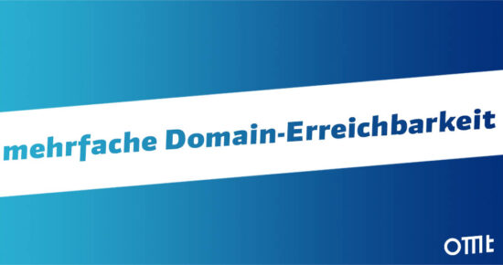 mehrfache Domain-Erreichbarkeit
