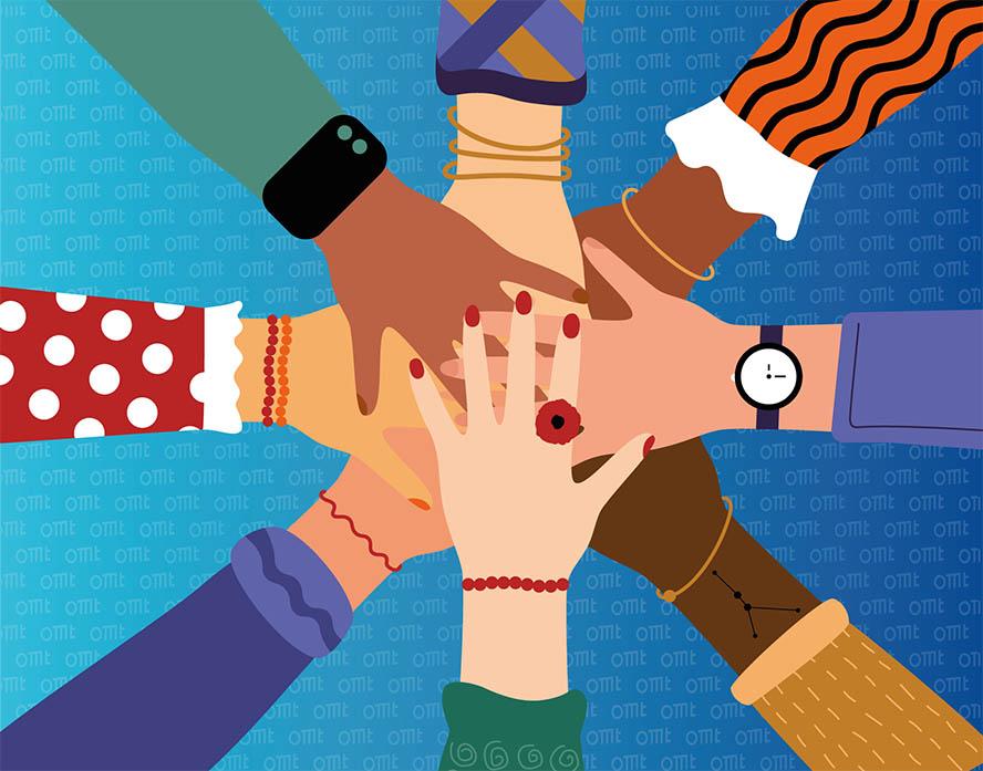 Hände-übereinander-Zusammenhalt-Fairness
