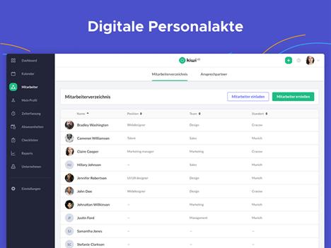 Digitale Personalakte