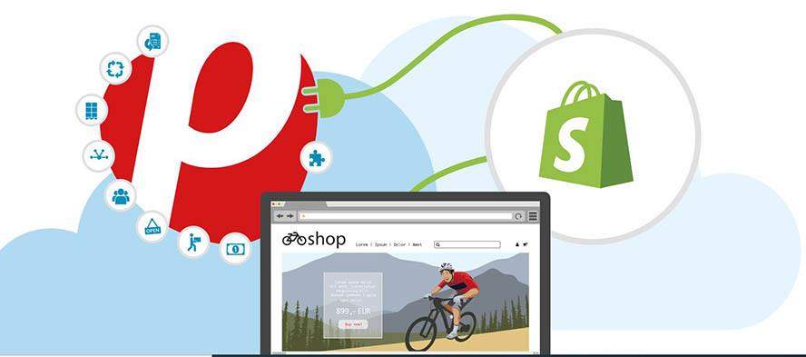 Plentymarkets ERP-System Screenshot Webseite
