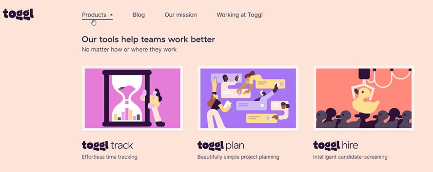 toggl-produkte-überblick