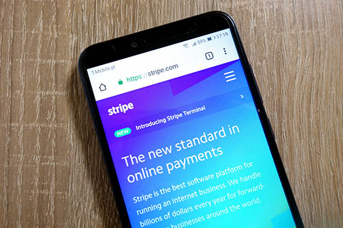 Payment Service-Provider Stripe