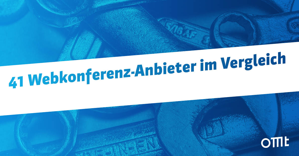 Webkonferenz Anbieter