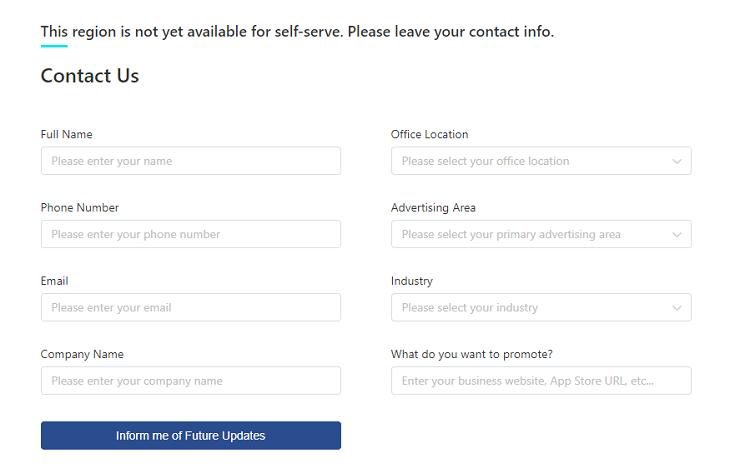 Registrierung für TikTok Ads (TikTok Ads)
