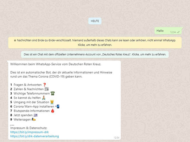 DRK Chatbot