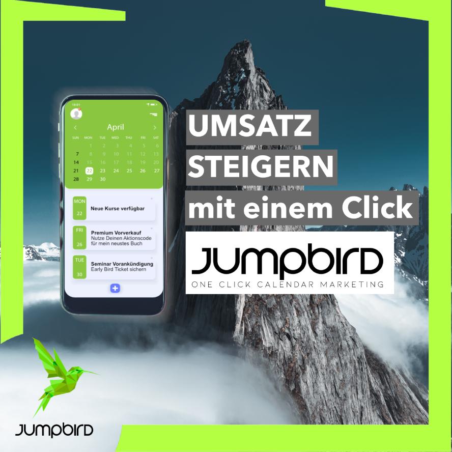 Jumpbird: Umsatz steigern mit einem Klick