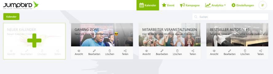 Kalender Beispiele