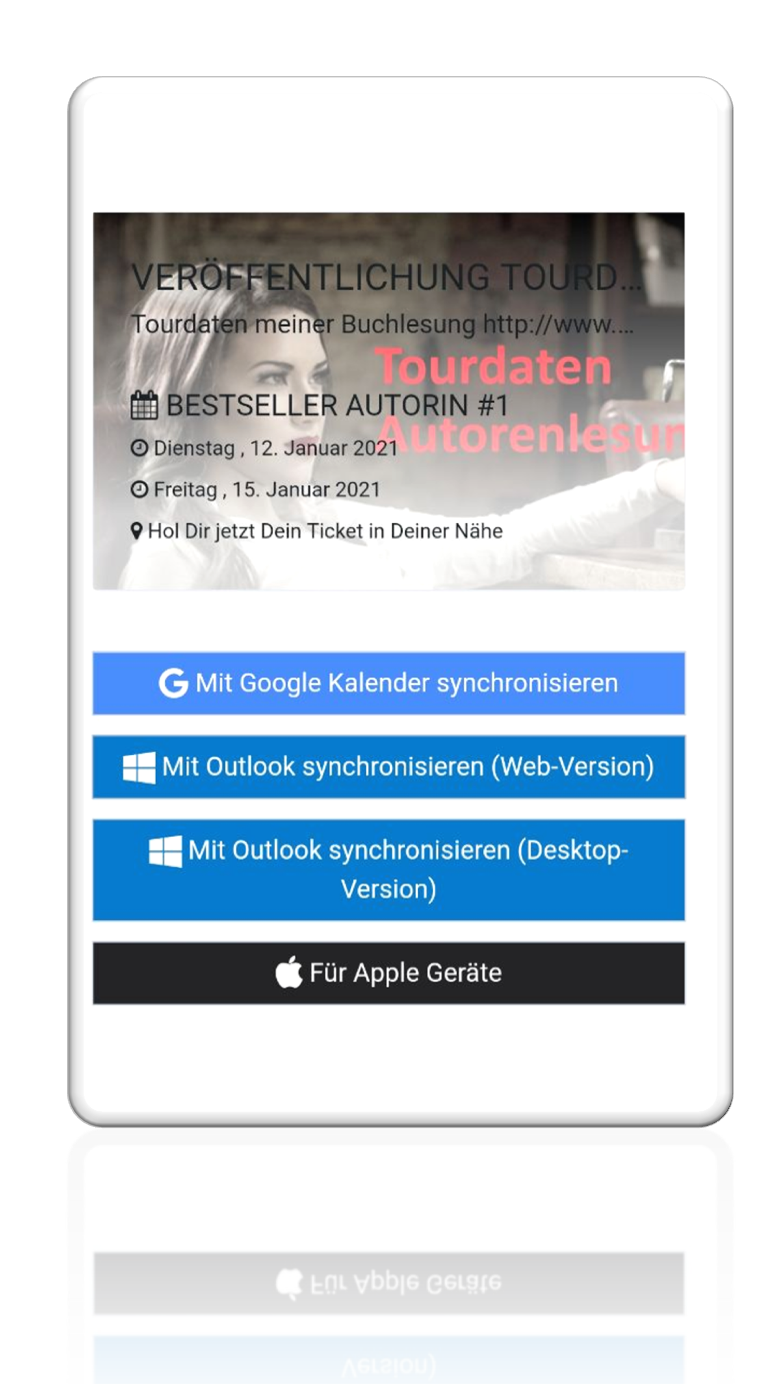 Jumpbird Kalender synchronisieren: Google, Outlook (Web- und Desktopversion)