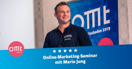 Online Marketing-Seminar 2021 ! Dein Workshop mit Mario Jung