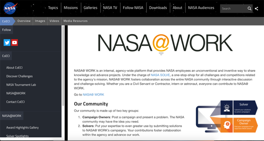 NASA Homepage