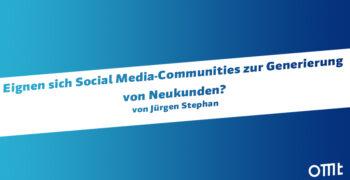Social Media-Communities zur G...