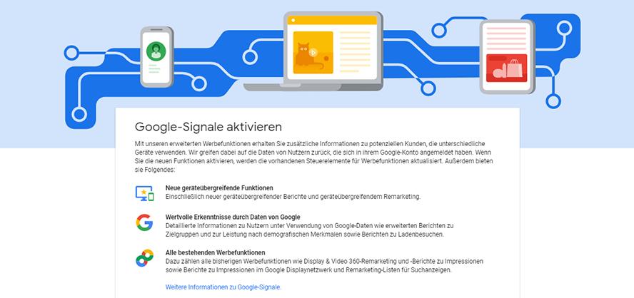 Google Ads Google Signale