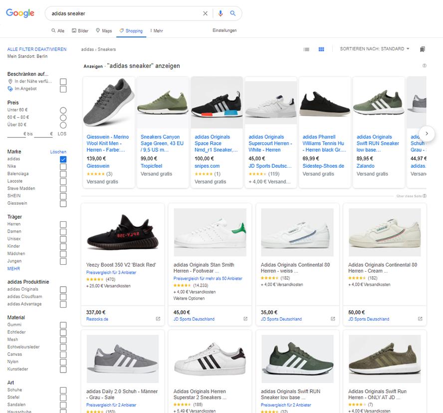 Google Ads Google Shopping