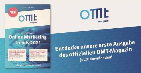 OMT Magazin - Ausgabe 1