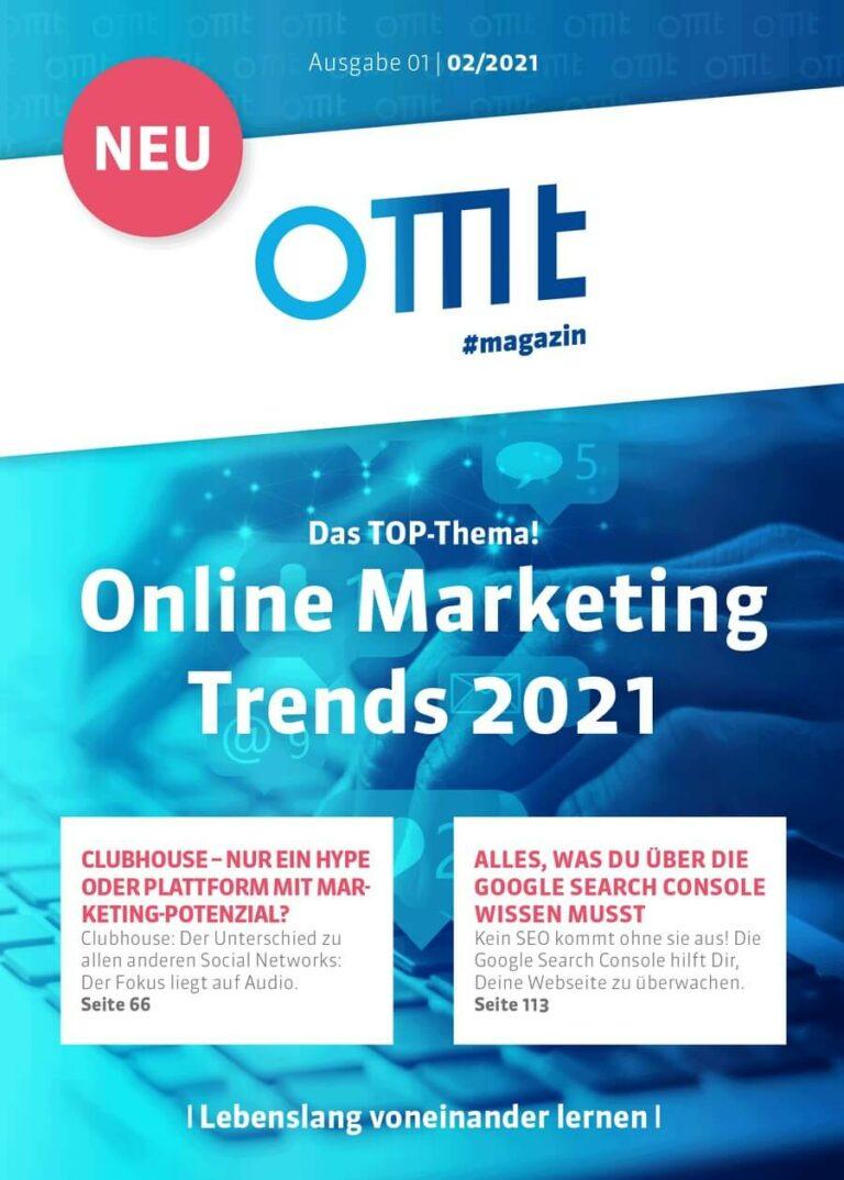 Jetzt die Print-Ausgabe des OMT-Magazin abonnieren