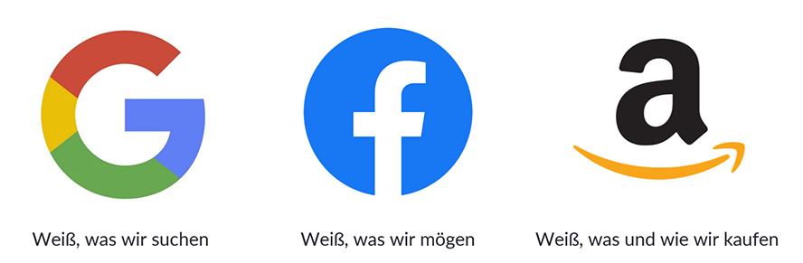 Google, FB, Amazon