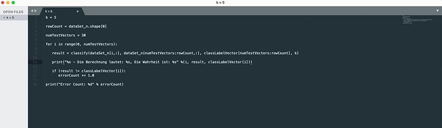 Python Standardcode