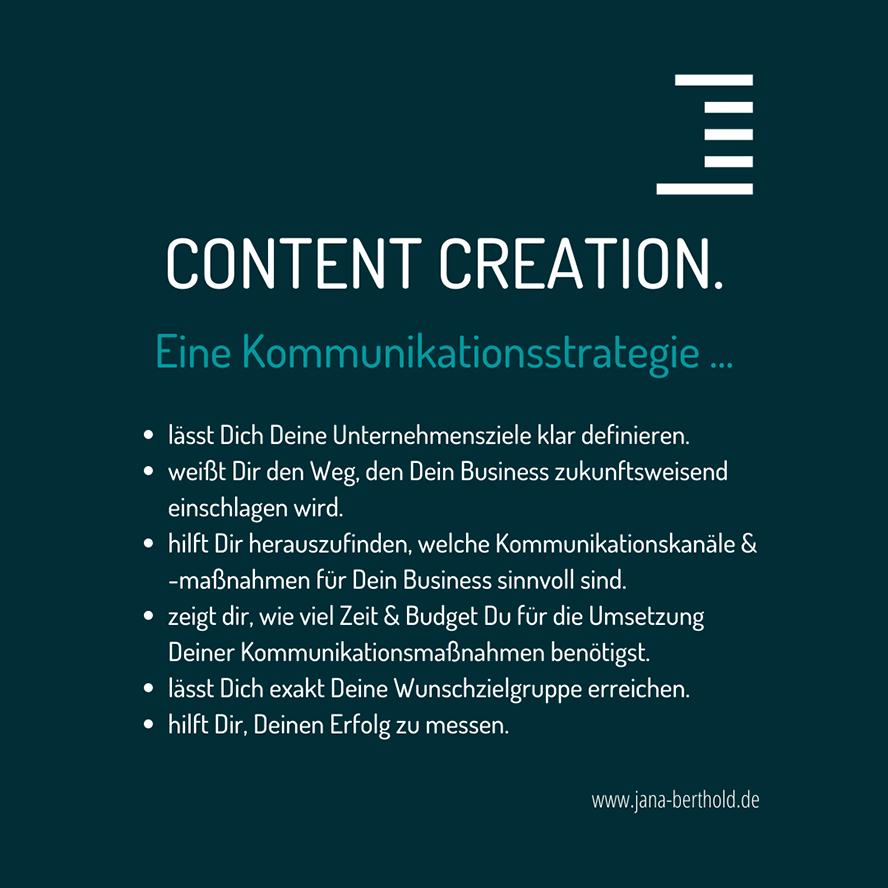 content-creation-kommunikationsstrategie