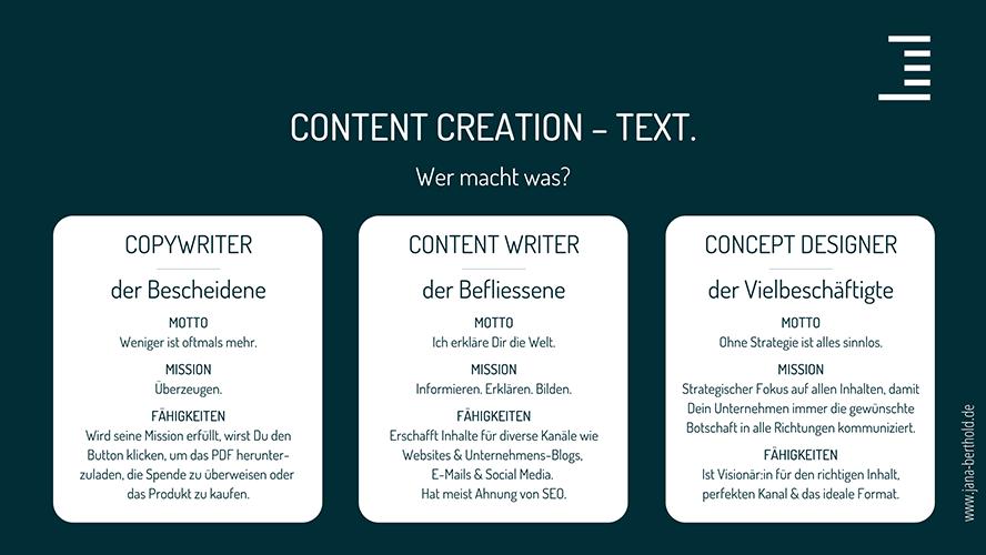 content-creation-texter-bezeichnung