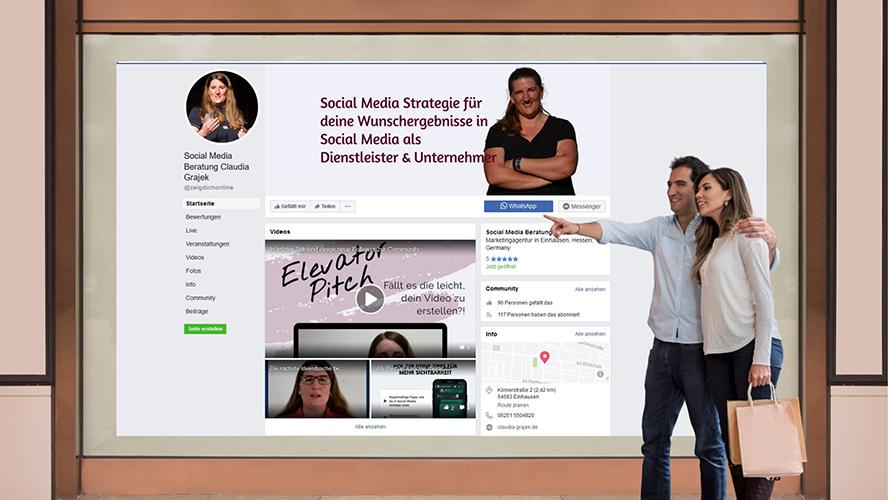 Sociial Media Seite