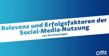 Relevanz der Social-Media-Nutz...