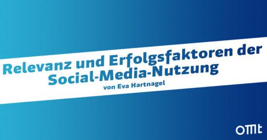 Relevanz der Social-Media-Nutzung
