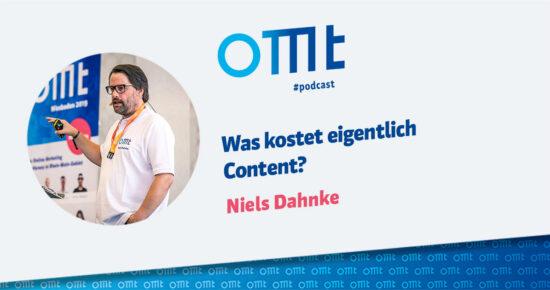 Was kostet eigentlich Content? – OMT Podcast Folge #083
