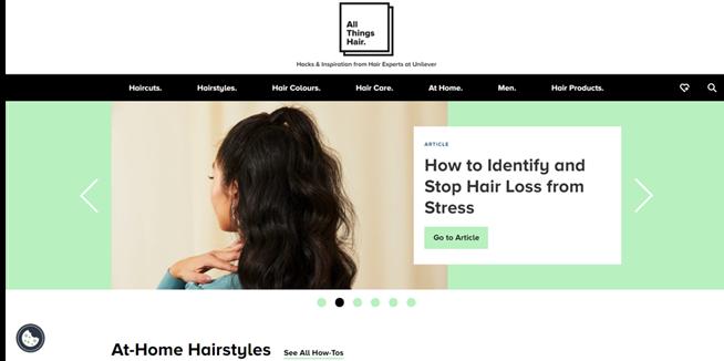 Screenshot At-Home Hairstyles