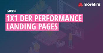 1x1 der Performance Landing Pages