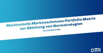 Marktanteils-Marktwachstums-Po...