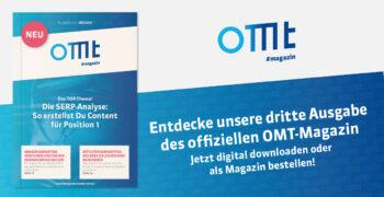 OMT-Magazin: Ausgabe #3