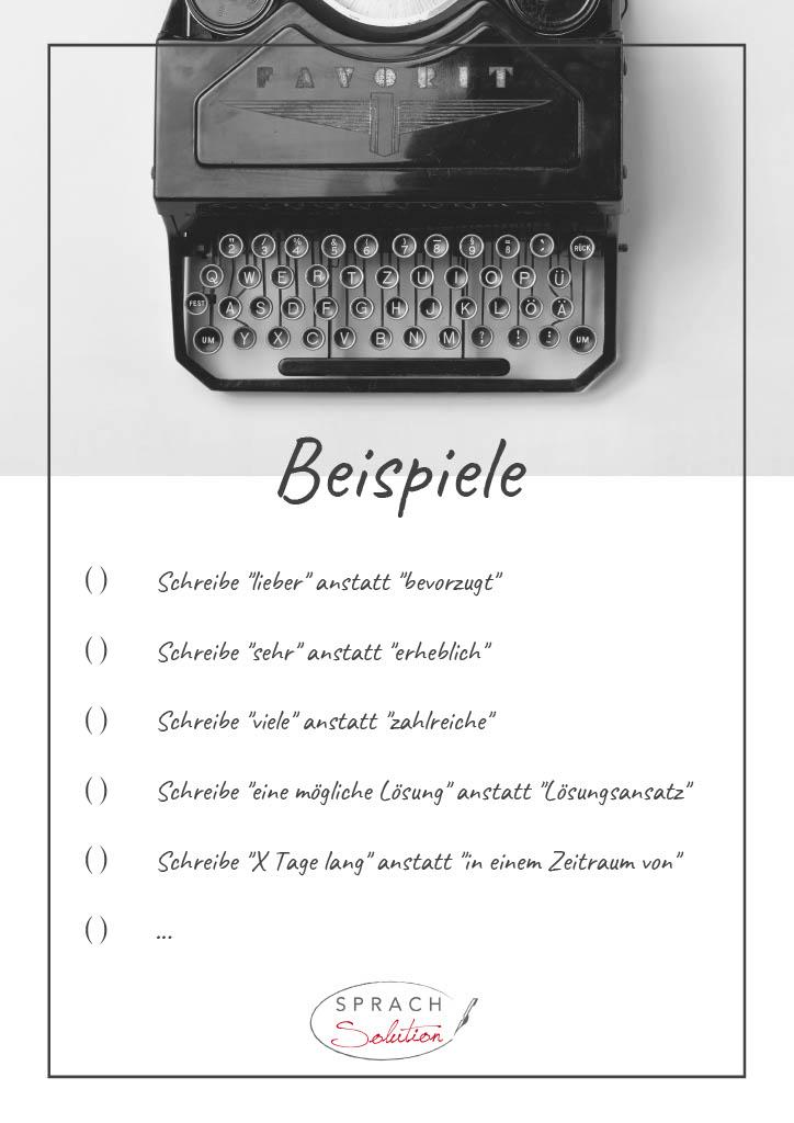 Checkliste Blogartikel: gute Lesbarkeit