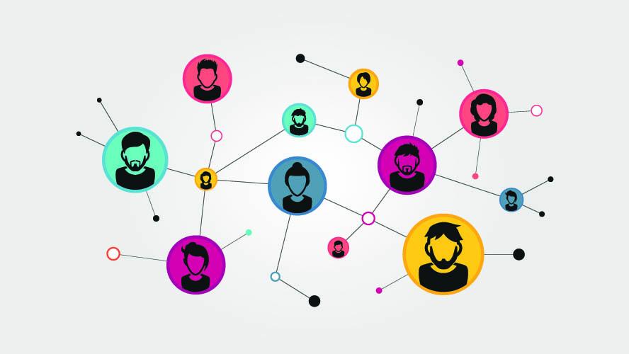 Menschen verbinden