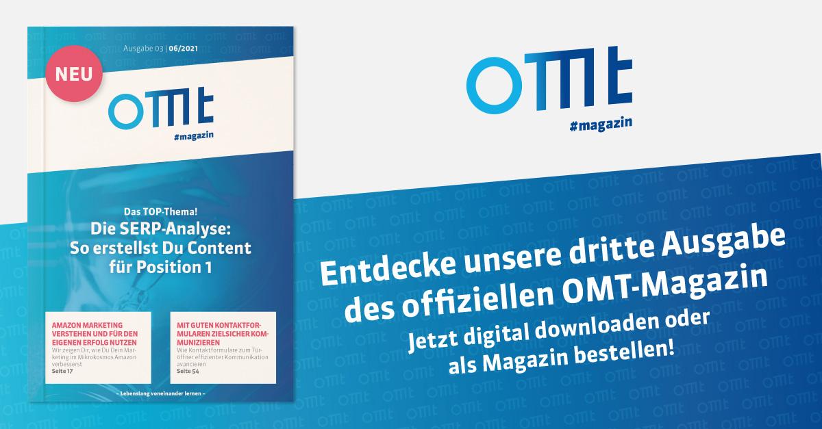 OMT Magazin - Ausgabe 3