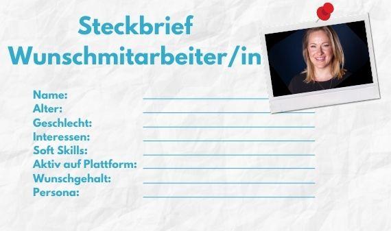 Steckbrief_ Zielguppe verstehen