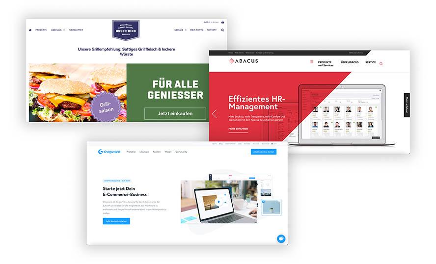 website-beispiele