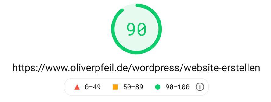website-ladezeit